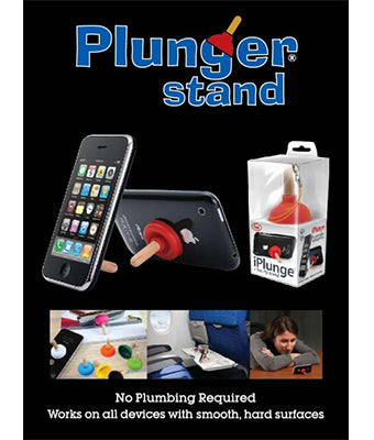 Kairos Plunger Phone Stand - Tredan Connections