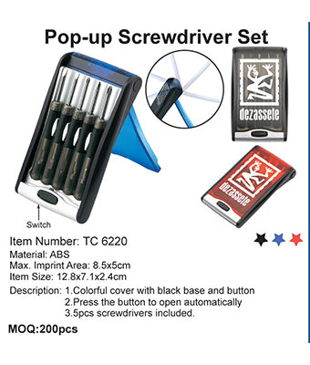 Pop-up Screwdriver Set - Tredan Connections