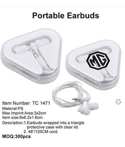 Portable Earbuds - Tredan Connections
