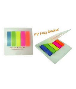 PP Sticky Note with Flag Marker - Tredan Connections