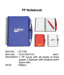 PP Notebook - Tredan Connections