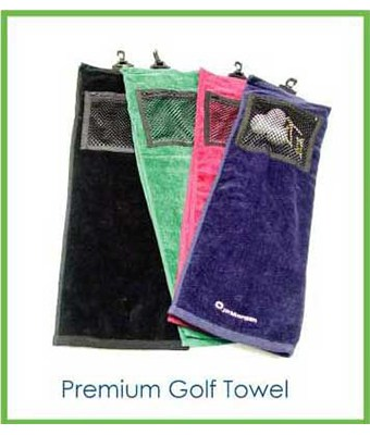 Premium Golf Towel - Tredan Connections