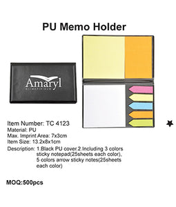 PU Memo Holder - Tredan Connections