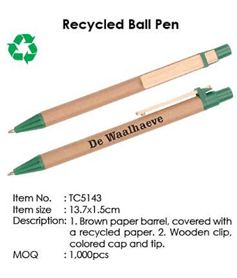Recycled Ball Pen - Tredan Connections