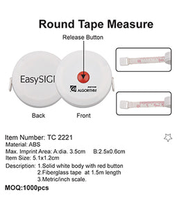 Round Tape Measure - Tredan Connections