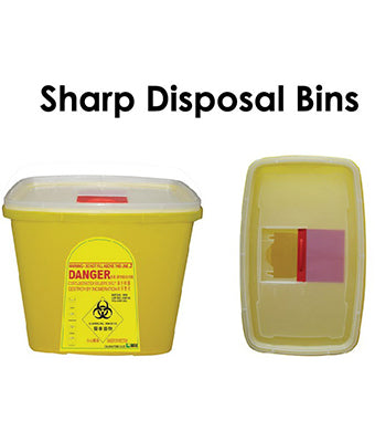 Sharp Disposal Bin - Tredan Connections