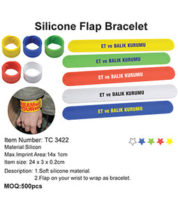 Silicone Flap Bracelet - Tredan Connections