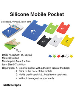 Silicone Mobile Pocket - Tredan Connections