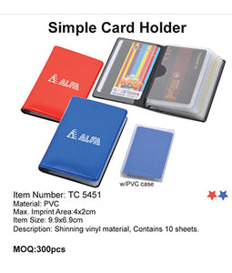 Simple Card Holder - Tredan Connections