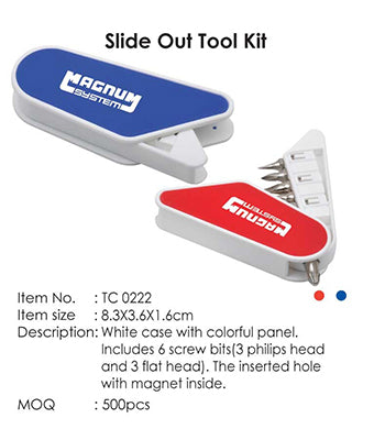 Slide Out Tool Kit - Tredan Connections
