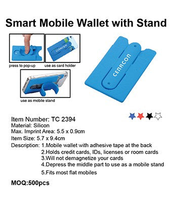 Smart Mobile Wallet with Stand - Tredan Connections