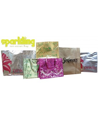 Sparkling Non-Woven Bag - Tredan Connections