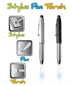 Stylus Pen Torch / Multi-Function Light up Pen - Tredan Connections