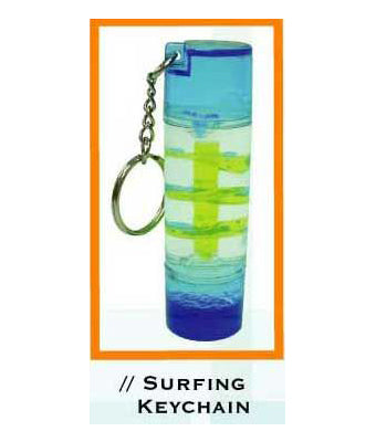 Surfing Keychain - Tredan Connections