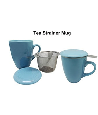 Tea Strainer Mug - Tredan Connections