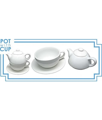 Tea Pot with Cup - Tredan Connections