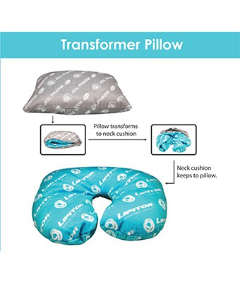 Transformer Pillow - Tredan Connections