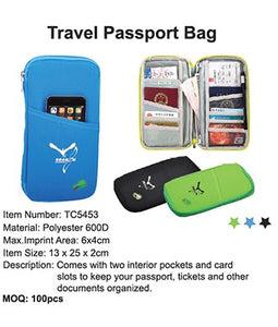 Travel Passport Bag - Tredan Connections