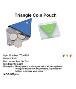 Triangle Coin Pouch - Tredan Connections