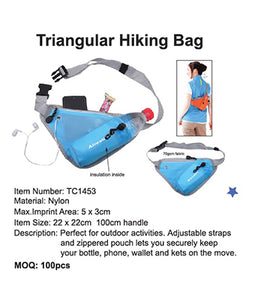 Triangular Hiking Bag - Tredan Connections