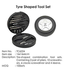 Tyre Shaped Tool Set - Tredan Connections