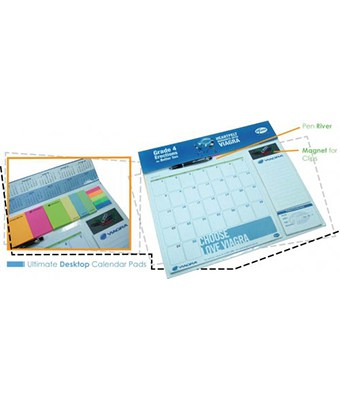 Ultimate Desktop Calendar Pads - Tredan Connections