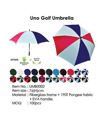 Uno Golf Umbrella - Tredan Connections