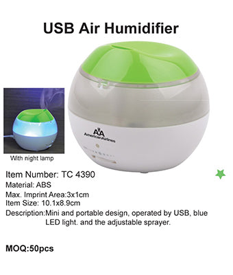 USB Air Humidifier - Tredan Connections