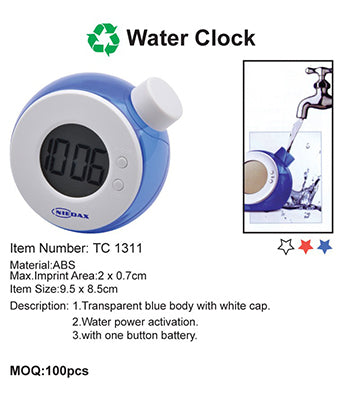 Water Clock - Tredan Connections