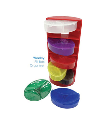 Weekly Pill Box Organiser - Tredan Connections