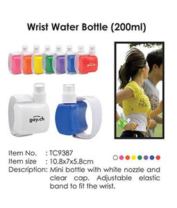 Wrist Water Bottle - Tredan Connections