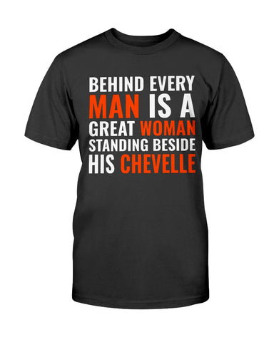 Chevelle  Men's T-Shirt muscle car cotton shirt
