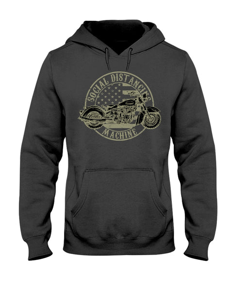 Motorcycle Men's Hoodie Biker Dad Riding Gear | Boss Imprint