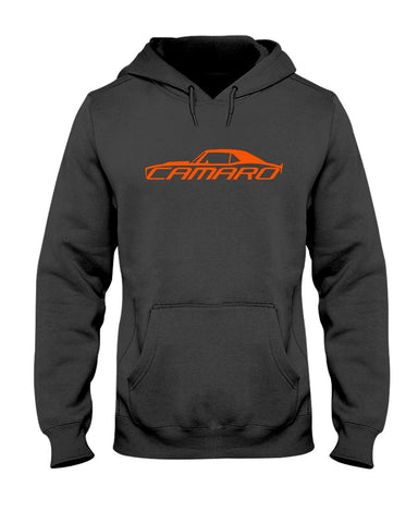 Camaro american muscle car 1968 camro ss 1969 camro rs men's graphic pullover hoodie