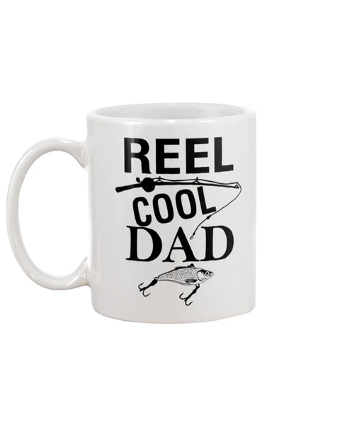 Cool Dad Fishing Mug Gift.
