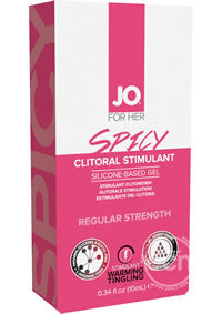 Jo Silicone spicy Clitoral Stimulation Gel 10 mL Wild