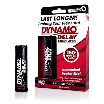 DYNAMO DELAY SPRAY BLACK SERIES