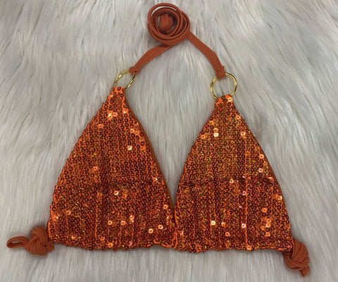 BAHAMA MAMA ORANGE SEQUINS