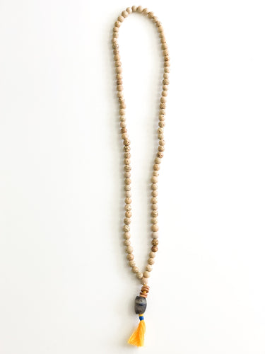 Tasseled Rosary Necklace - Sufi Design