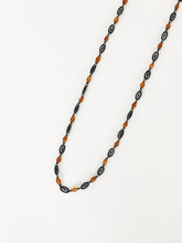 Load image into Gallery viewer, Garnet & Silver Necklace - Sufi Design