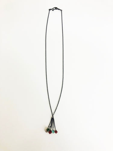 Tourmaline Necklace - Sufi Design