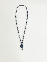 Load image into Gallery viewer, Lapis & Silver Necklace - Sufi Design