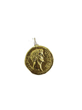 Load image into Gallery viewer, Coin Pendant - Sufi Design