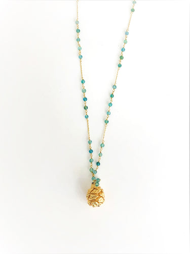 Real Pine Cone Necklace - Sufi Design