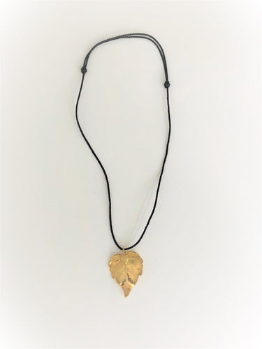 'Leaf' Necklace - Sufi Design