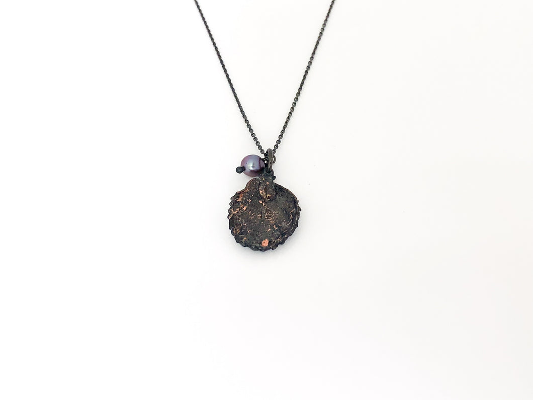 Real Leaf Necklace - Sufi Design
