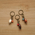 Wooden Oval Stitch Markers