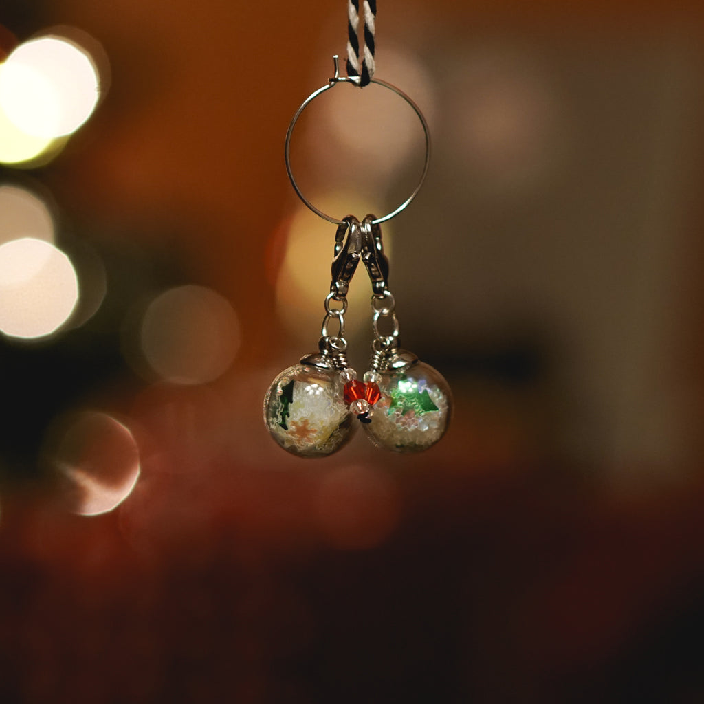 Mini Ornament Stitch Markers