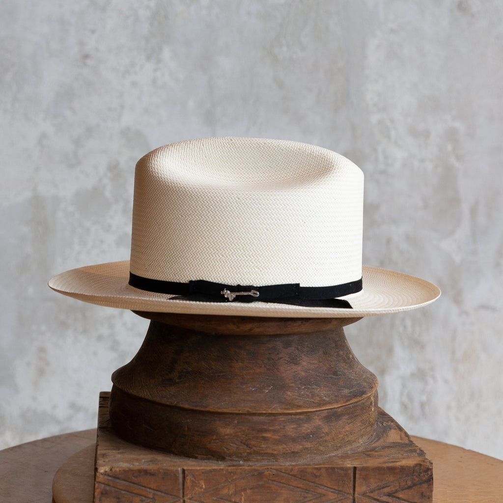 The Open Road 10X Straw Cowboy Hat - Natural