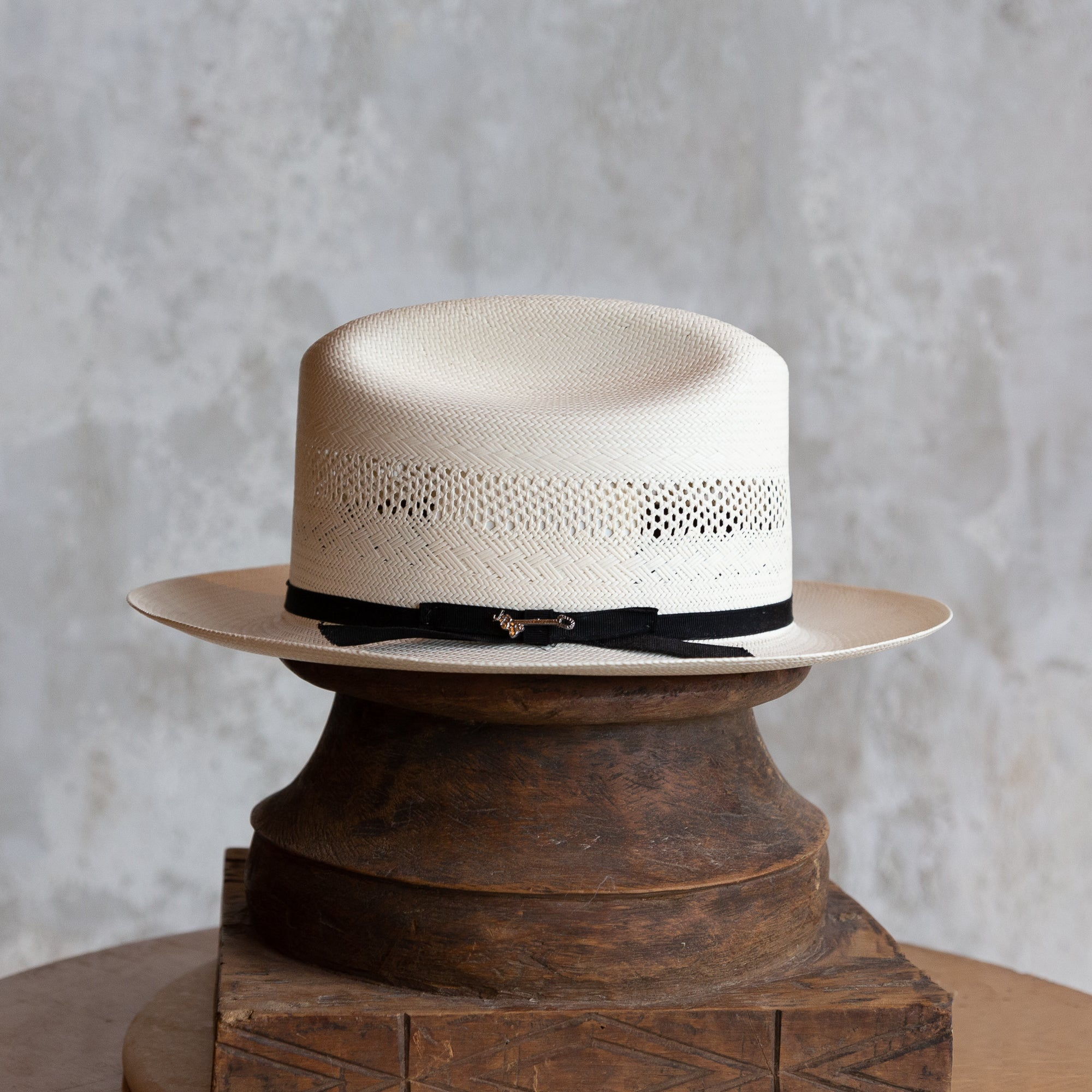 The Open Road 10X Straw Cowboy Hat - Natural Vent